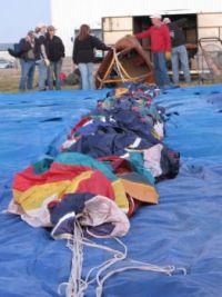 Balloon Rally-2-setting up