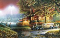 July Simpler Times  Calendar Page Terry Redlin
