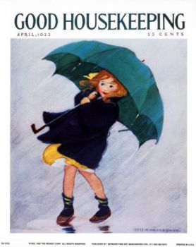 Good Housekeeping cover by Jessie Willcox Smith, April 1922