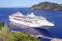 St. Vincent cruise ship