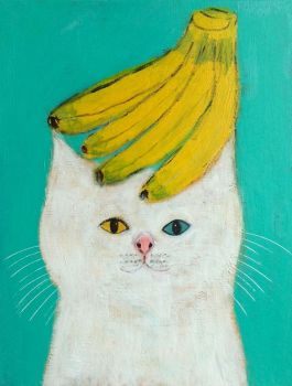 Banana Cat by Pepe Shimada