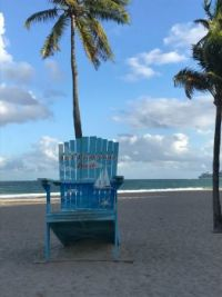 Fort Lauderdale Beach Chair