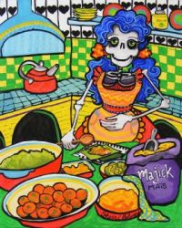 day of the dead cuccina