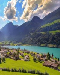 Living In Lungern, Switzerland