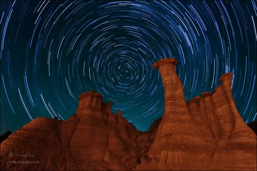 Under the Spinning Stars, New Mexico, USA