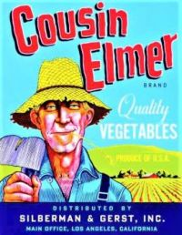 Themes Vintage ads - Cousin Elmer Vegetables