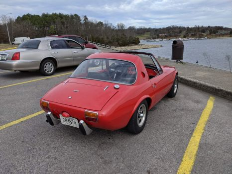 1967 Toyota Sports 800 being exercised
