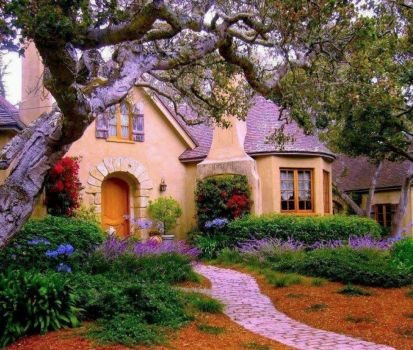 Storybook cottage...