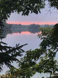 Beautiful Lake Alice, Wisconsin
