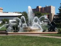 Jesse Clyde Nichols Memorial Fountain