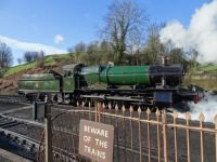 GWR 7800 Class 4-6-0 7828 Odney Manor.