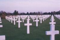 memorial day  normandy france cemetary  one of many cemetaries of wwII