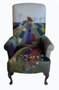 Quilted Art Chair - 2