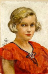 Portrait of Inge (the artist's daughter)