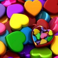 Color Hearts