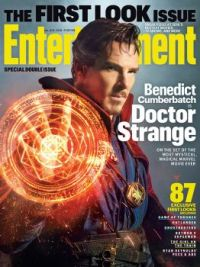 Entertainment Weekly cover with Benedict Cumberbatch as Doctor Strange