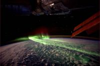 australia's southern lights from space
