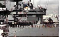 USS Iowa BB-61 docked at Port Everglades