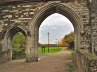 Grounds at Waltham Abbey