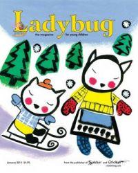 Ladybug Magazine Cover January 2015