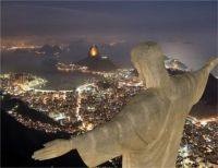 Christ The Redeemer Statue over Rio 2
