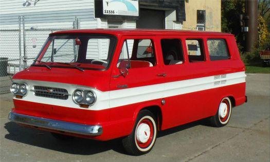 1963 Chevrolet Corvair Van