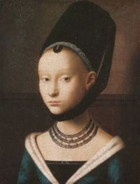 Petrus_Christus,_Portrait_of_a_young_girl