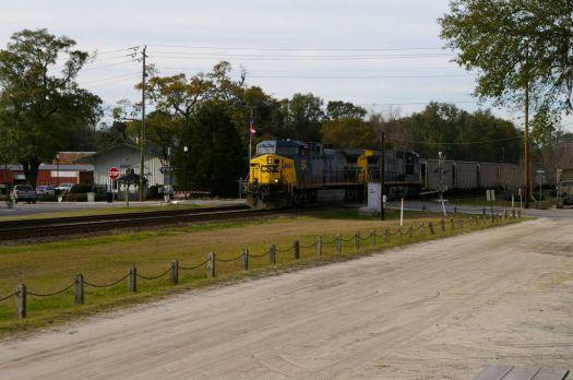 train at Folkston