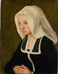 Lucas Cranach d.Ä. - Bildnis einer Frau