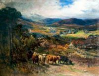 Balmoral, Autumn by Joseph Donavan Adam (1841-96)