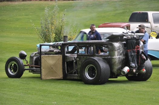 Diesel Golf Cart