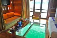 Glass Floor Water Villa - Bora Bora