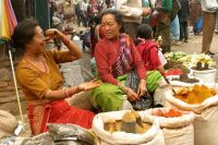 Katmandu marketplace
