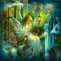 Christmas Wonder by Nadia Strelkina