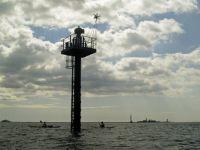 Pillar marking The Bridge, Plymouth Sound
