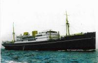Danish liner AMERIKA