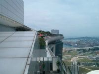 The top of Marina Bay Sands Hotel, Singapore