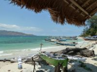 Gili Air on a windy day