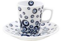 evil eye coffee cup