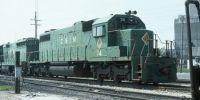 Chicago & Illinois Midland SD38-2 74 Sicily, IL. 8-90