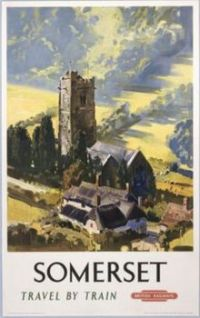 Rail Posters - Somerset