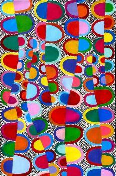 Aboriginal Art Painting by Sally Clark