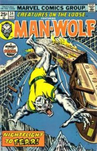 Man-Wolf On The Loose