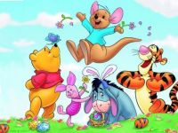 Winnie The Pooh Happy Easter