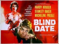 BLIND DATE - 1959 MOVIE POSTER HARDY KRUGER, STANLEY BAKER