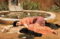"John William Godward, ""Dolce far Niente"" 1904"