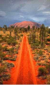 The Red Road to Uluru Australia