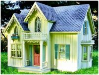 Victorian Gothic Cottage Doll's House
