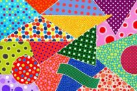 Sunday dots - large