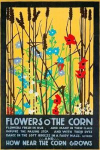 Flowers O' the Corn, 1920, Edward McKnight Kauffer (1890-1954)